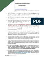 Form 402 Procedure English