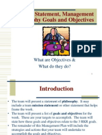 Setting Objectives 382