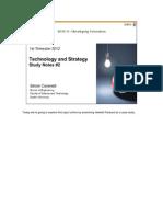 SEB711 2012 Technology and Strategy 2