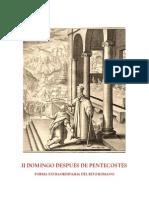 II domingo de Pentecostés.card Schuster