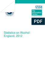 Statistics on Alcohol England 2012