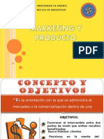 Marketing y Producto