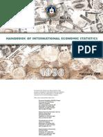 Handbook of International Economic Statistics 1998