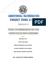 Additional Mathematics Project Work 2/2012 in Sarawak