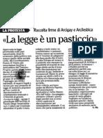 Iniziativa popolare per legge sulle pari opportunità - l'Adige del 2012-06-08
