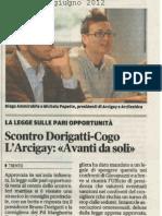 Iniziativa popolare per legge sulle pari opportunità - Trentino del 2012-06-08