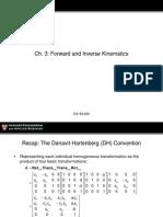 Lec04 Forward InverseKinematicsII