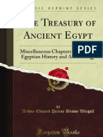 The Treasury of Ancient Egypt - 9781440093067