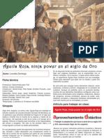 Televisión | Águila Roja, ninja power en el siglo de Oro