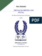 INTERPRETAÇÃO MÍSTICA DO NATAL