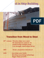 Steel Used in Ship Building