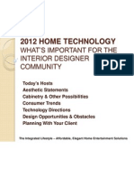2012 ASID Lunch and Learn Presentation