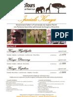 Speciale Scirocco Tours. Tour Kenya - Da Giugno a Dicembre 2012