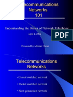 Telecommunications Networks 101