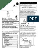 Hoover SteamVac Manual