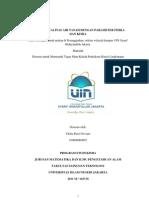 Analisis Kualitas Air Tanah