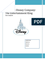 Strategy Disney