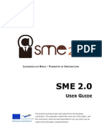 SME 2.0 Project Website User Guide