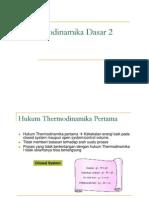 Thermodinamika 2_kuliah 2 PDF