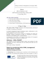 SME 2.0 Cork Meeting Minutes