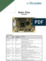 Robin Z5xx Datasheet