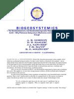 Bordon Et All -- Biogeosystemics - I. SBE & SBEG Nature of Human Life on Earth
