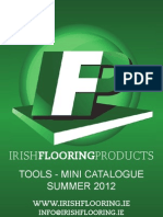 Irish Flooring Products Tools Mini Catalogue - Summer 2012