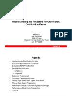 DBA Certification