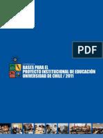 Proyecto Educación UCH - Informe 2011