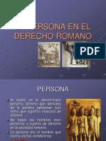 Lapersona en El Derecho Romano