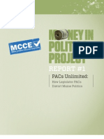 MCCE Report PACs Unlimited