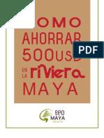 Como Ahorrar 500 USD en La Riviera Maya