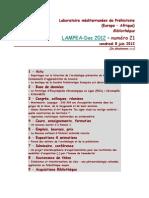 LAMPEA-Doc 2012 – numéro 21 / vendredi 8 juin 2012