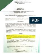 Acuerdo 050 Cierre Salas TCA Del Valle Junio 8 Al 15