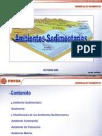 AMBIENTES SEDIMENTARIOS
