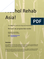 Alcohol Rehab Asia   Thailand Drug and Alcohol Rehab Priciples and Treatments