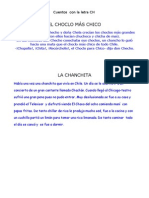 Cuentos Con La Letra CH