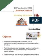 PRIAD Plan Lector 2009