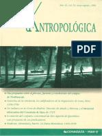 Dimensión Antropologica