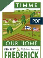 Finn Fest program 2012