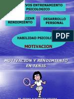 Martes- Motivacion y Rendimiento