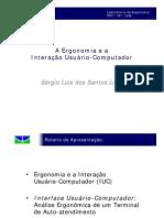 A Ergonomia e a Interao Usurio Computador4084