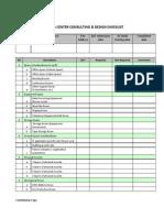DATA CENTER Design Checklist