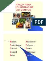 Haccp-para Industrias de Alimentos