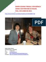 ENTREVISTA DE MARÍA SUSANA TIRIGALL CON MÓNICA ALE