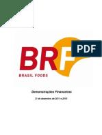 BRF - DFPs 2011