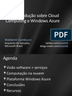 Cloud-AAB308-Cloud Computing Windows Azure