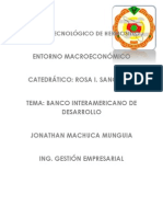 Banco Interamericano de Desarrollo