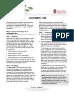 Handout Elimination Diet Patient