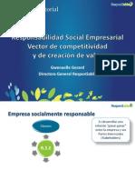 Responsabilidad Social Empresarial, vector de competitividad y de creación de valor
